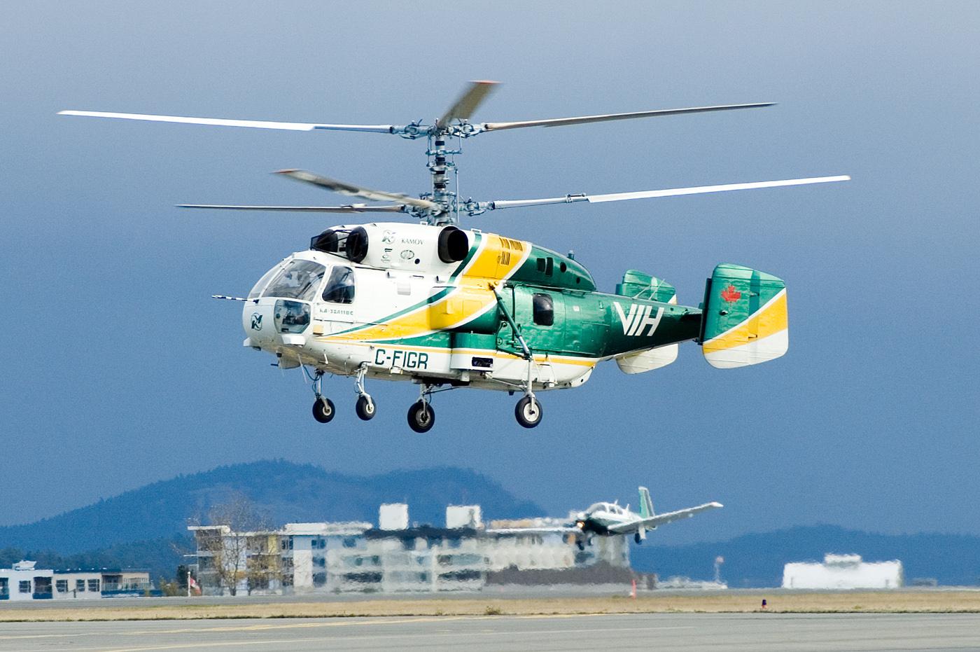 Пожарный вертолет Ка-32А. Южная Африка