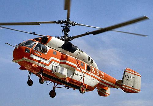 Пожарно-спасательный вертолет Ка-32А