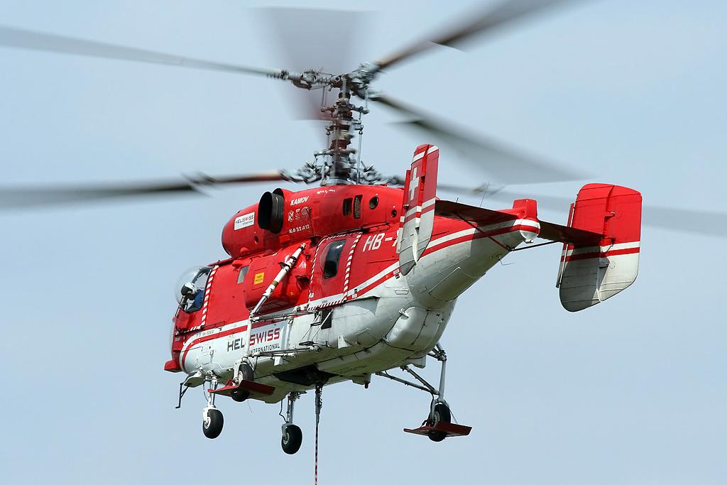 Пожарно-спасательный вертолет Ка-32А12. Швейцария