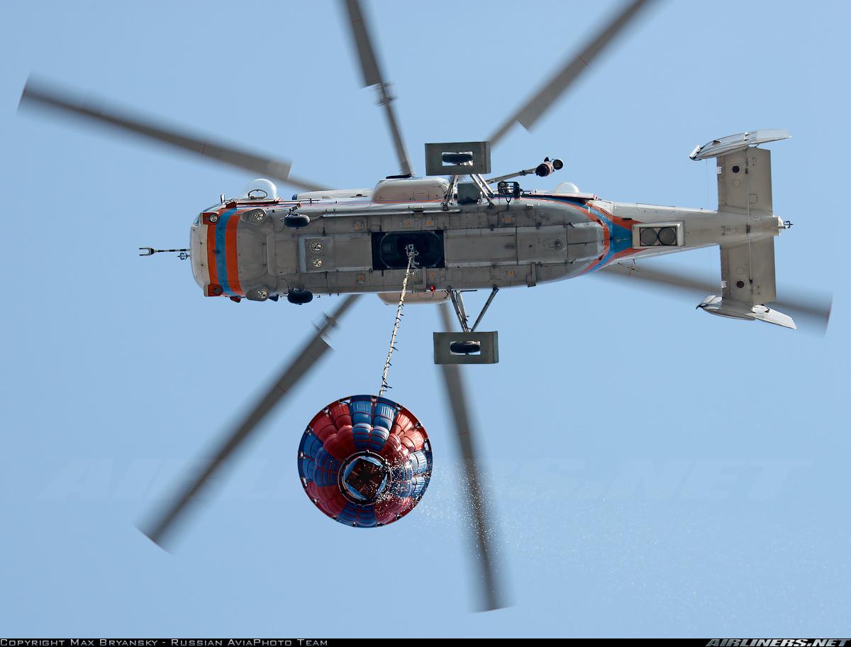 Пожарно-спасательный вертолет Ка-32А1. Использование ВСУ