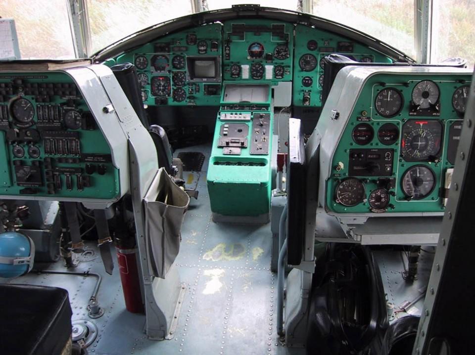 Кабина пожарного вертолета Ми-26ТП