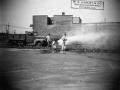 Сотрудники компании Darley испытывают военный аэродромный пожарный автомобиль class 135