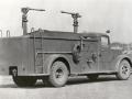 Прототип военного аэродромного пожарного автомобиля Class 155, Mack Model 19. США, 1940-е годы
