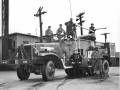Военный аэродромный пожарный автомобиль Class 155, Brockway-Mack. США, 1944 год