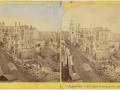 Великий пожар Бостона. 1872 год, США. Руины Вашингтон Стрит