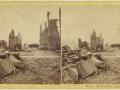 Великий пожар Бостона. 1872 год, США. Перл Стрит. Вид на юг