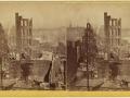 Великий пожар Бостона. 1872 год, США. Угол Вашинтон и Саммер Стрит