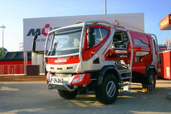 Morita Bush Truck