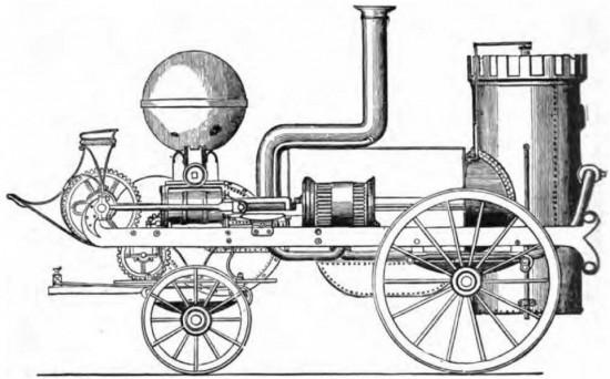 Четвертая машины Брэйтуэйта – «Comet» (Комета). Построена для короля Пруссии в 1832 году.