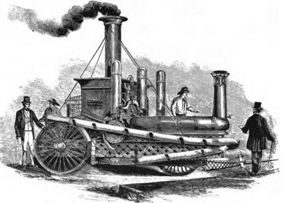 Паровая пожарная машина, построенная фирмой A. B. & E. Latta