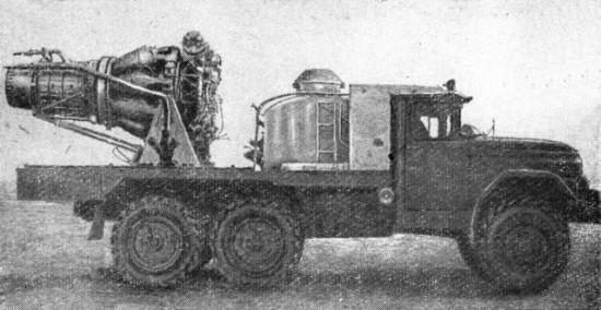 Автомобиль газо-водяного тушения АГВТ-100