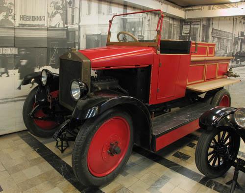 Пожарный автомобиль на базе шасси АМО-Ф-15