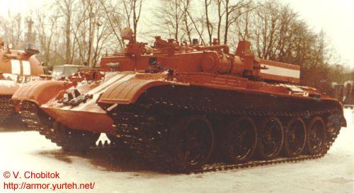 """Машина пожарной разведки """"Броня"""" (на базе Т-55)"""