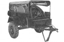 Цистерно-рукавный прицеп ЦРП-20 (704), 50-60 годы