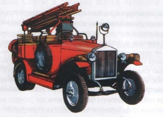 Первый пожарный автомобиль (Киев, 1913 год)