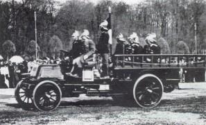 Пожарный автомобиль завода Лесснера, 1904 год