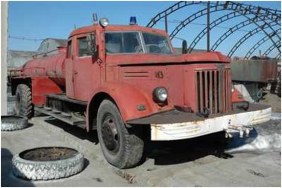 Пожарный автомобиль, созданный в послевоенные годы