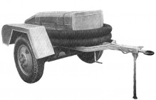 Прицепная мотопомпа ММ-1200. Середина 1950-х годов