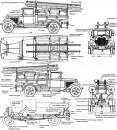 Пожарный автомобиль ПМГ-1 на шасси ГАЗ-АА