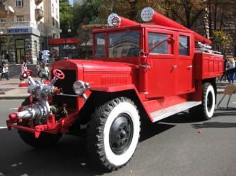Пожарная машина ПМЗ-1