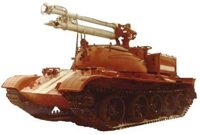 """Самоходный лафетный ствол """"Сойка"""" (на базе Т-55)"""