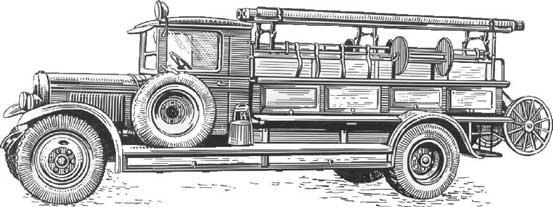 Пожарная автоцистерна ЗИС-11