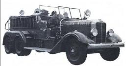 Аэродромный пожарный автомобиль Class 100 Holabird 6x4 USA W-50163, 1939 год