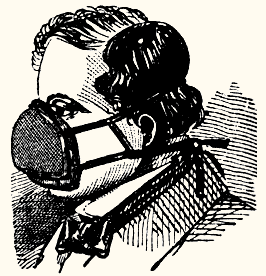 Газовая маска Джона Стэнхауса, 1854 год