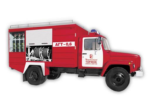 Пожарный автомобиль целевого применения АГТ-0,6 (ГАЗ-3309)