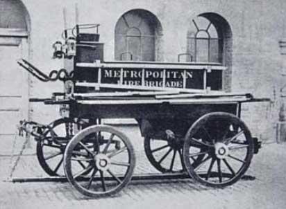 Пожарная машина 19 века