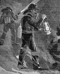 Респиратор Леба, 1891 год