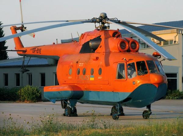 Пожарный вертолет Ми-14 ПЖ компании «Велес»