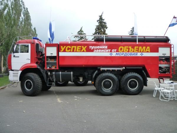 Пожарная автоцистерна тяжелого класса АЦПС-18,0-40 (65222)