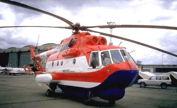 Пожарный вертолет Ми-14 ПЖ «Элиминатор»
