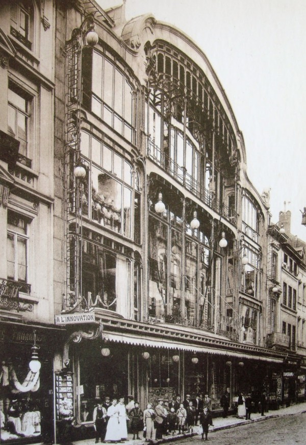 """Открытие унивемага """"Инновасьон"""" в 1903 году в Брюсселе"""