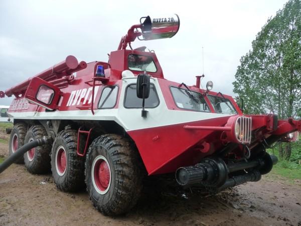 Пожарный автомобиль ГАЗ-59402 «Пурга»