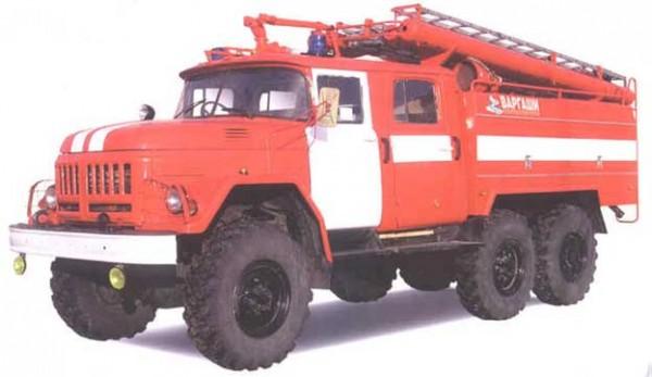 Автоцистерная пожарная среднего класса АЦ-2,5-40 (5313), мод. 6ВР