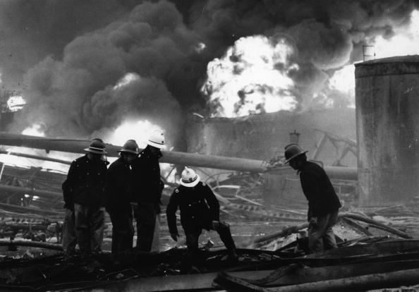 Тушение пожара и разбор завалов на заводе Nypro, 1 июня 1974 года