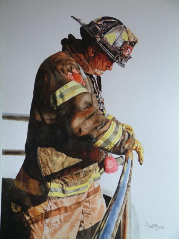 Дэвид МакЮэн (Великобритания). Пожарный