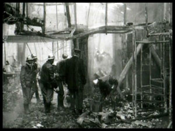 Разбор завалов в дансинге, Сен-Лоран-дю-Пон, Франция, 1 ноября 1970 г.