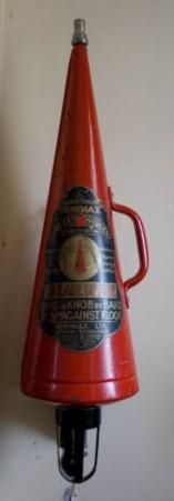 Огнетушитель Minimax, 1902 год