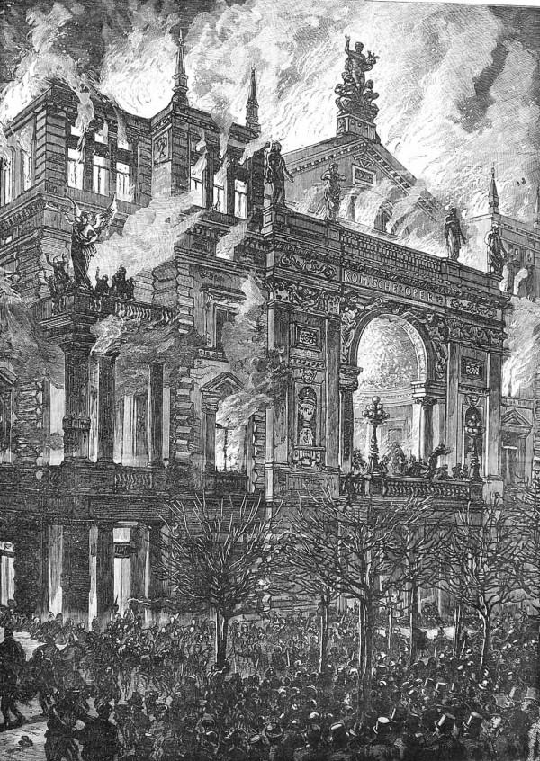 Пожар в Ринг-театре Вены. 8 декабря 1881 года