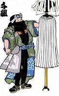 Японские пожарные эпохи Эдо