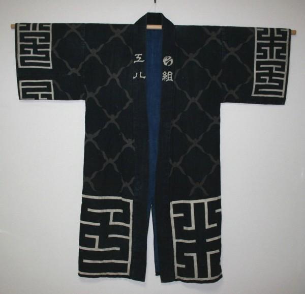Традиционная одежда японских пожарных эпохи Эдо