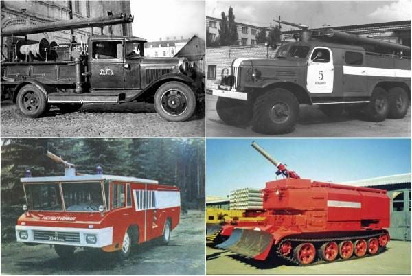 пожарные авто от А до Я