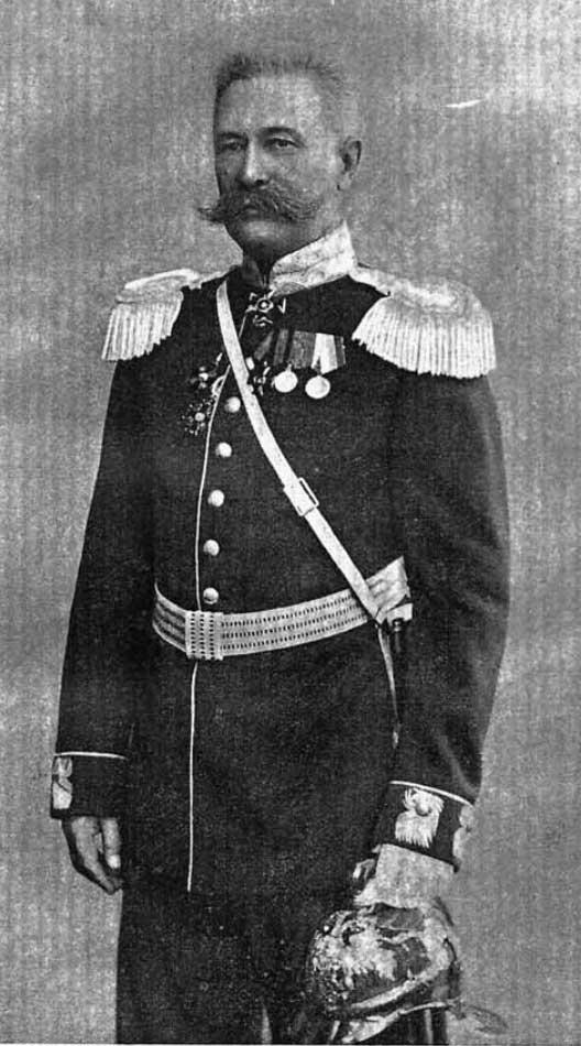Кириллов Митрофан Андреевич. Брандмайор Санкт-Петербургской пожарной команды (1898-1906)