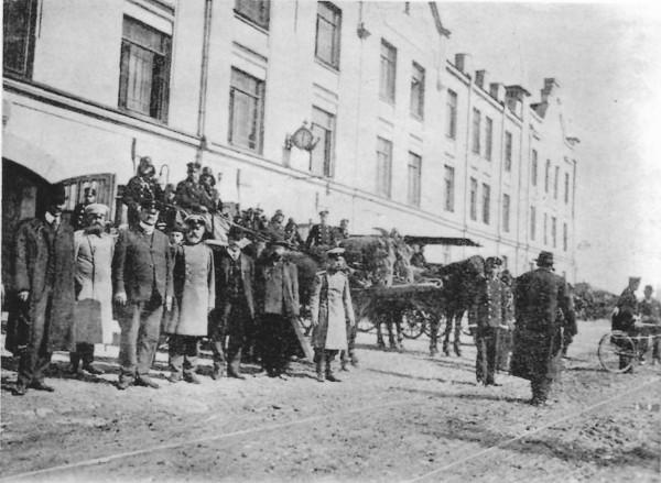 Торжественное открытие курсов пожарных техников, 5 октября 1906 года