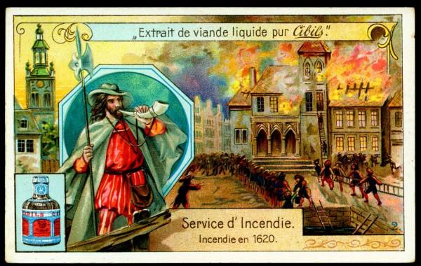 Пожарная служба. Пожар в 1620 году