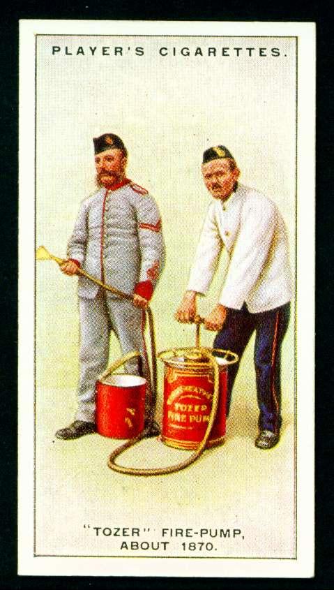 """Пожарный насос """"Tozer"""", около 1870 года"""