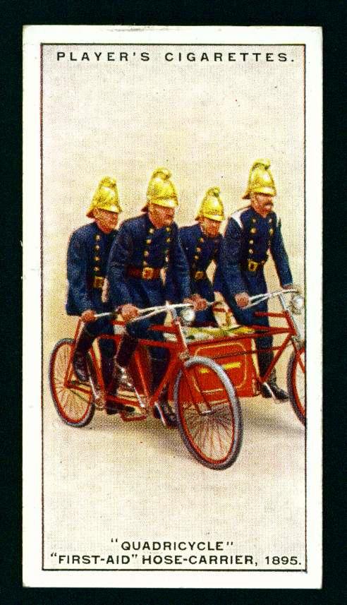Квадроцикл первой помощи с рукавной повозкой, 1895 год